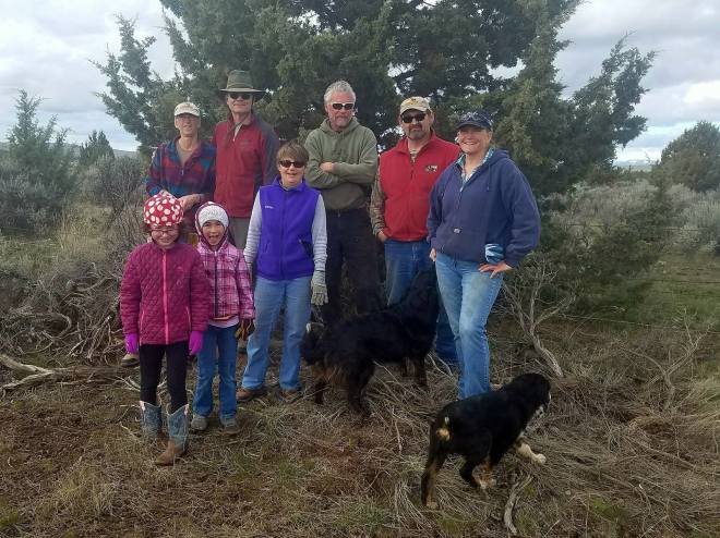 3-18-17 Grizzly Trail Work Crew
