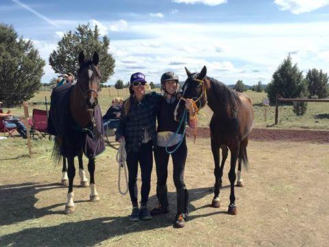 Jennifer and Sue TYM Relay winners